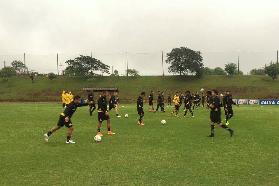 Treino do Criciúma no CT - 12/10