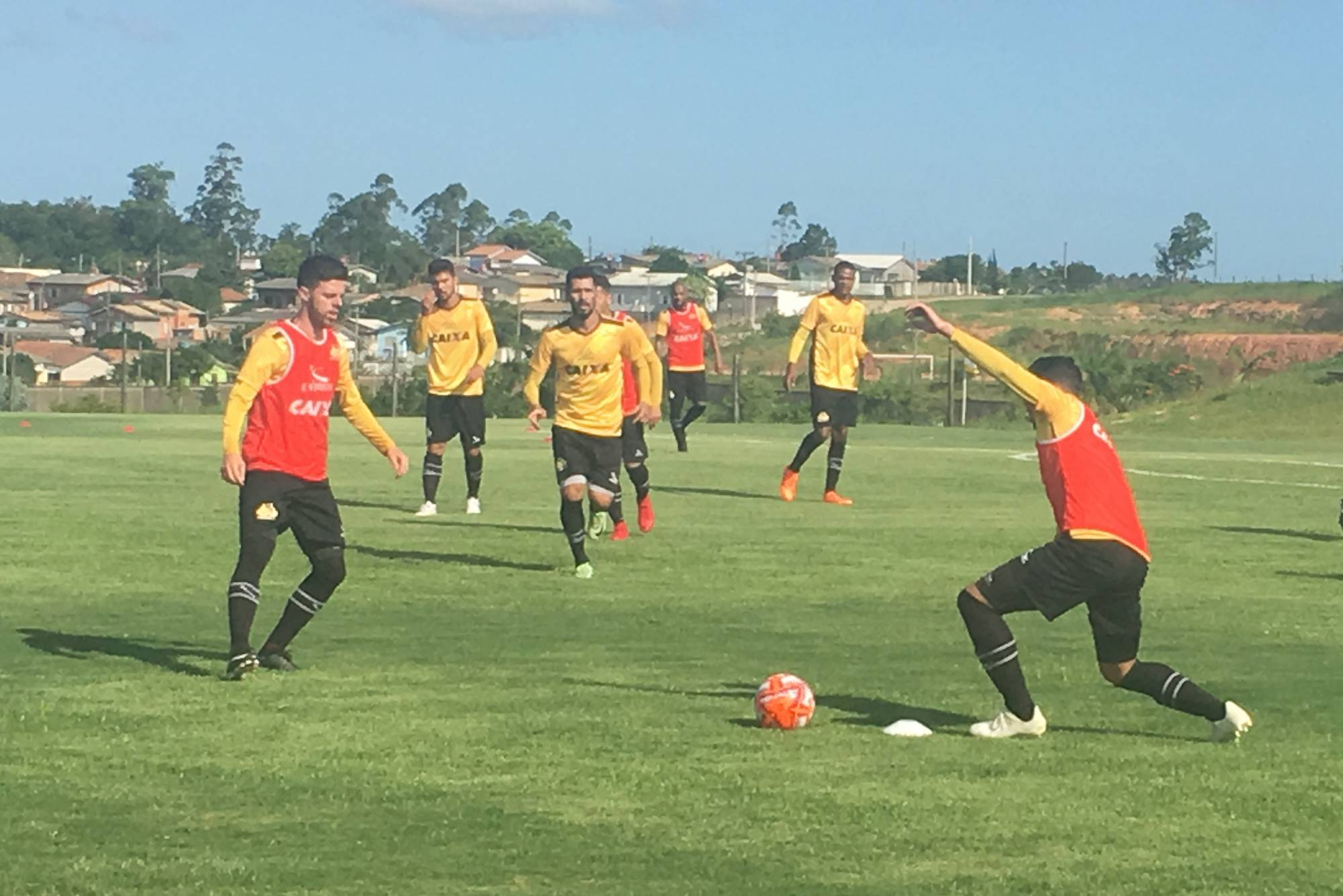 Treino do Criciúma no CT - 27/12 (Tarde)